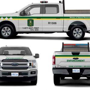 Ontario Conservation Officer (MNR) – Pickups