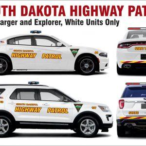 South Dakota Highway Patrol – Fits Explorer & Charger