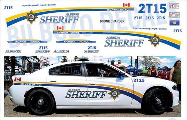 Alberta Sheriff Charger
