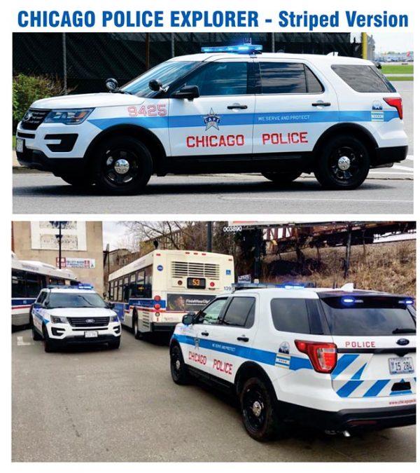 Chicago Police Striped Version