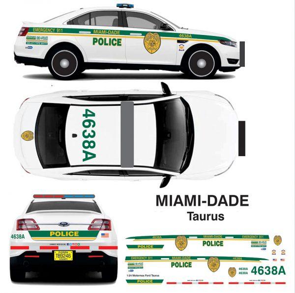 Miami-Dade Police Taurus