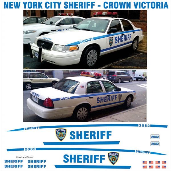 New York City Sheriff Crown Victoria