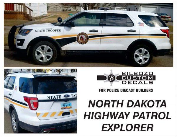 North Dakota State Patrol Explorer