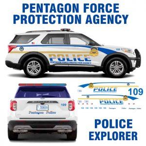 Pentagon Force Protection Agency Police Explorer