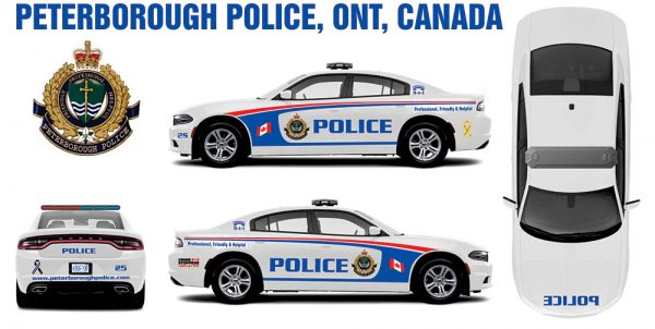 Peterborough Police Charger ONT