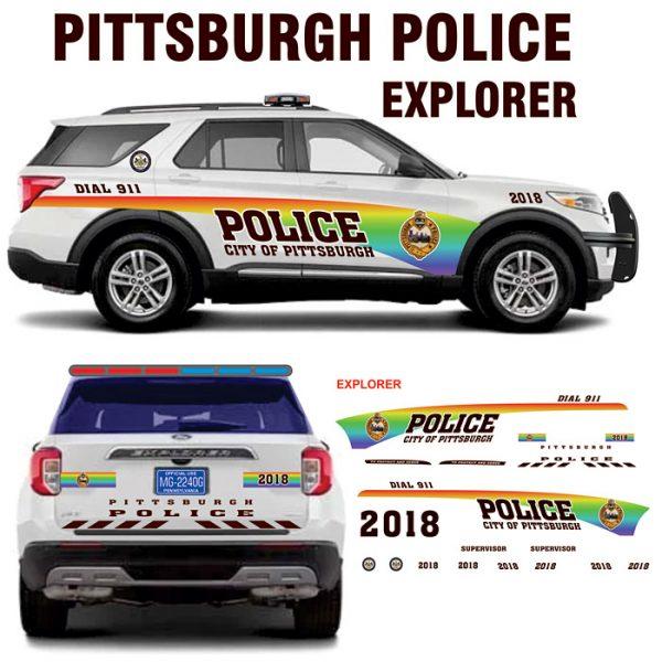 Pittsburgh Police LGBT Pride Explorer