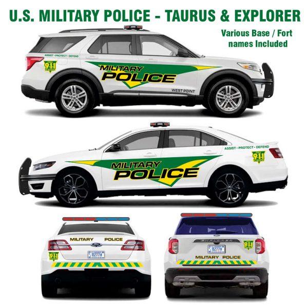 U.S. Military Police Taurus and Explorer