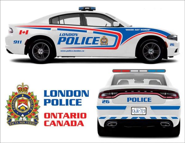 London Police, Ontario Charger