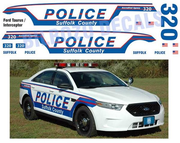 Suffolk County Police New York Taurus