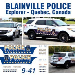 Blainville Police, Quebec, Canada – Explorer