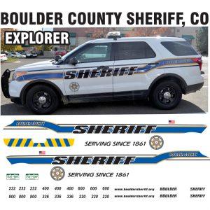 Boulder County Sheriff, Colorado – Explorer