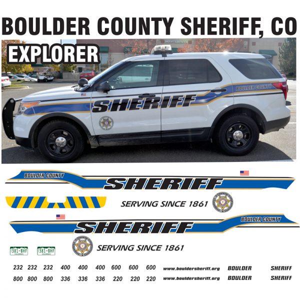 Boulder County Sheriff CO EXPLORER