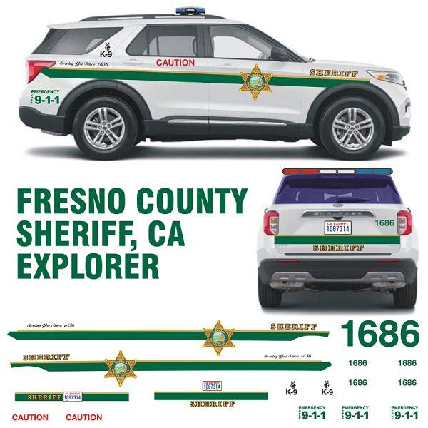 Fresno Sheriff CA Explorer