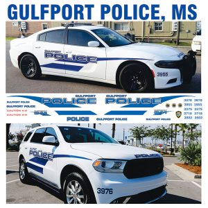 Gulfport Police, MS – Multiple Vehicles