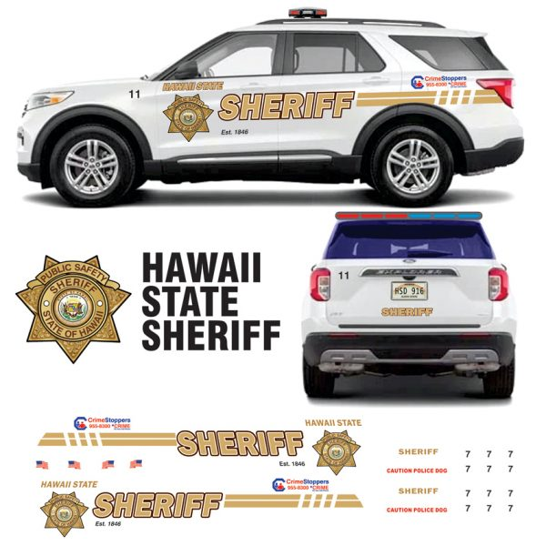 Hawaii State Sheriff Explorer