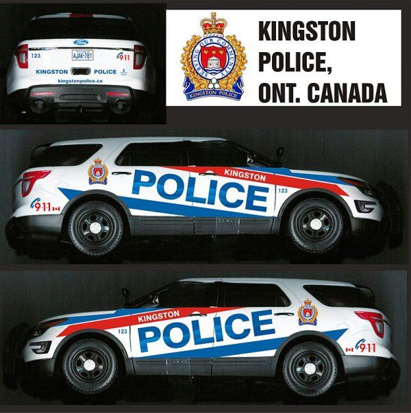Kingston Ontario Police Explorer