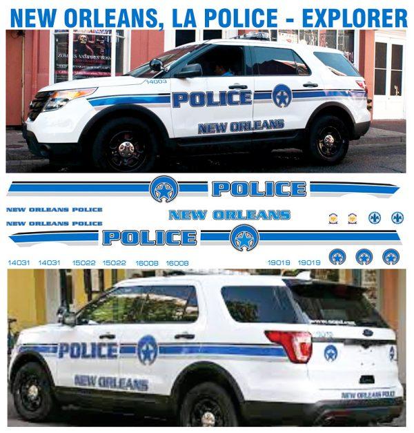 New Orleans Police EXPLORER - LA