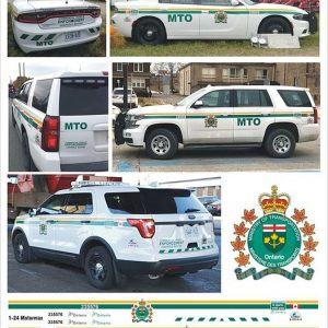Ontario Ministry Of Transportation (MTO) – Universal Set (makes Charger, Tahoe or Explorer with some modifications)