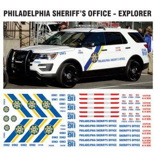 Philadelphia Sheriff SUV