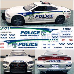 Thérèse-De-Blainville Police, Quebec, Canada – Charger