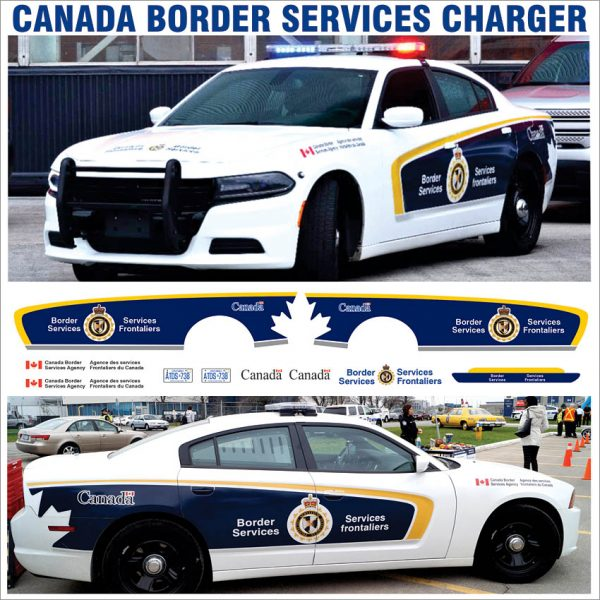 Canada Border Services Charger