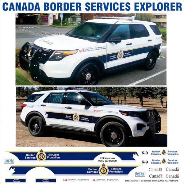 Canada Border Services Explorer
