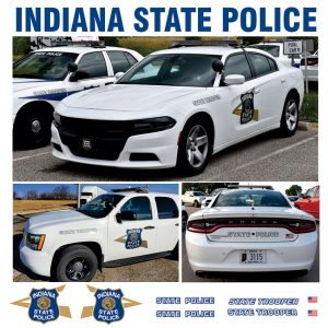 Indiana State Police – Charger & Tahoe