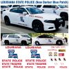 Louisiana State Patrol - New Darker Blue Patch