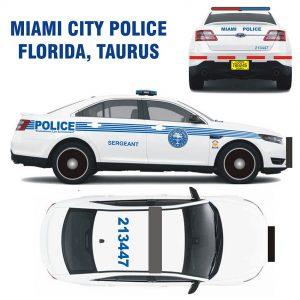 Miami City Police Taurus