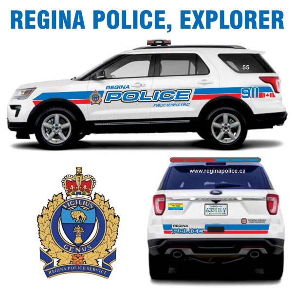 Regina Police SK Canada Explorer