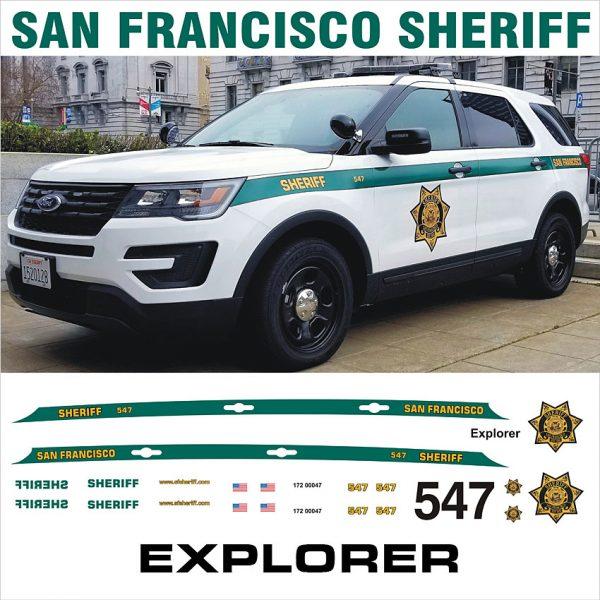 San Francisco Sheriff Explorer