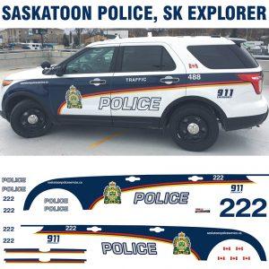 Saskatoon Police SK Explorer