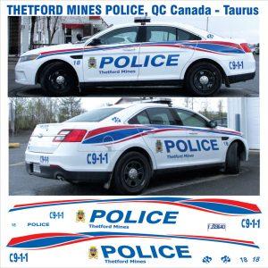 Thetford Mines Police, Quebec, Canada – Taurus
