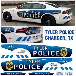 Tyler Police TX Charger