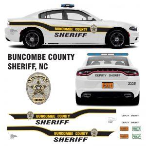 Buncombe County Sheriff, NC (North Carolina) Charger