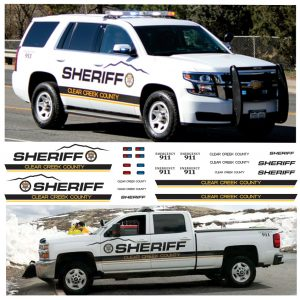 Clear Creek County Sheriff, Colorado, CO  (For Multiple Vehicles)