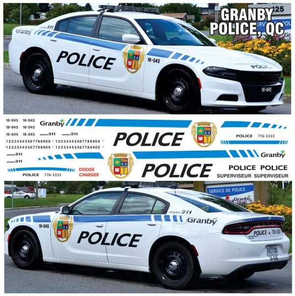 Granby Police QUE - Charger