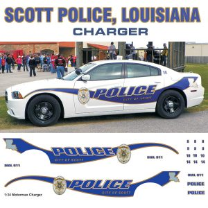 Scott Police, Louisiana – Charger