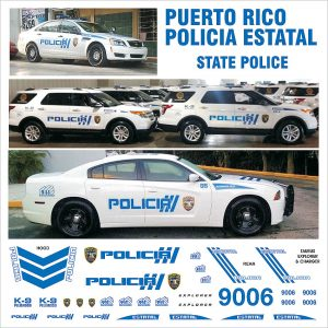 Puerto Rico Policia Estatal (State Police) – Multiple Vehicles