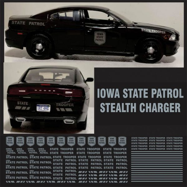 Iowa State Patrol Stealth Charger