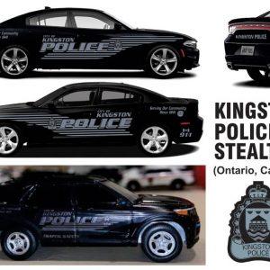 Kingston Police, Ontario – Stealth Charger  & Explorer
