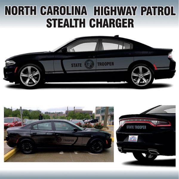 North Carolina Highway Patrol Stealth Charger
