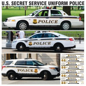 U.S. Secret Service (Multiple Vehicles)