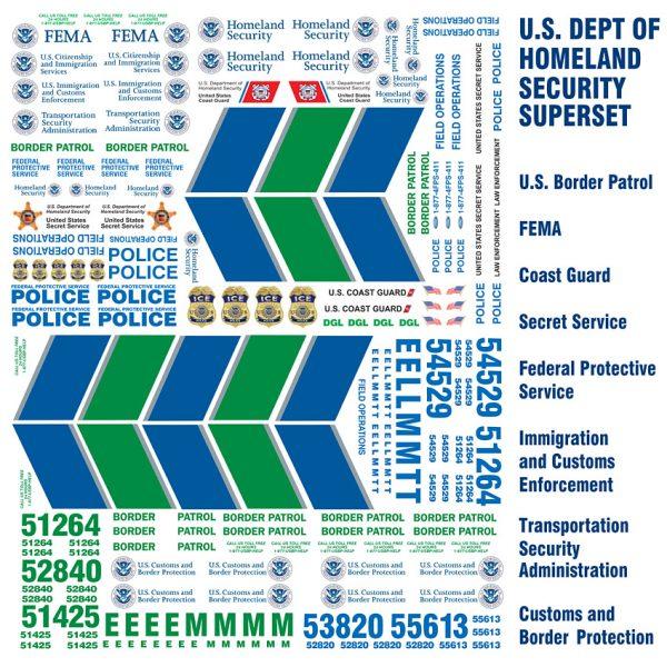 Homeland Security Set