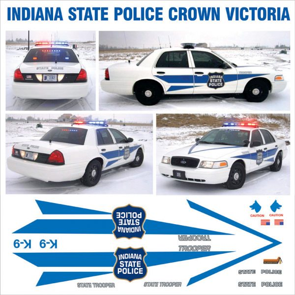 Indiana State Police -Crown Victoria