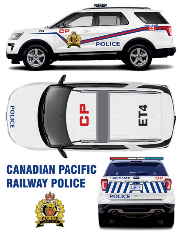 CP Rail Police Explorer