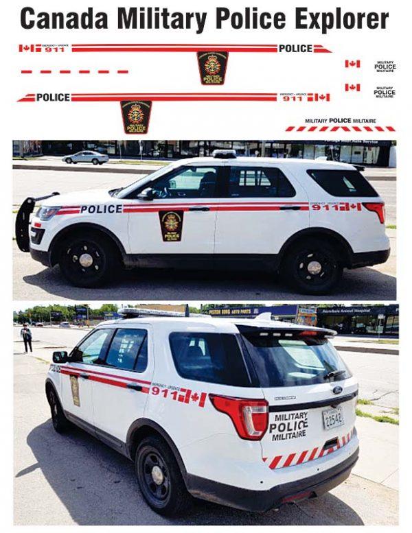 Canada Military Police Explorer