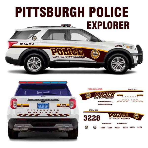 Pittsburgh Police Explorer