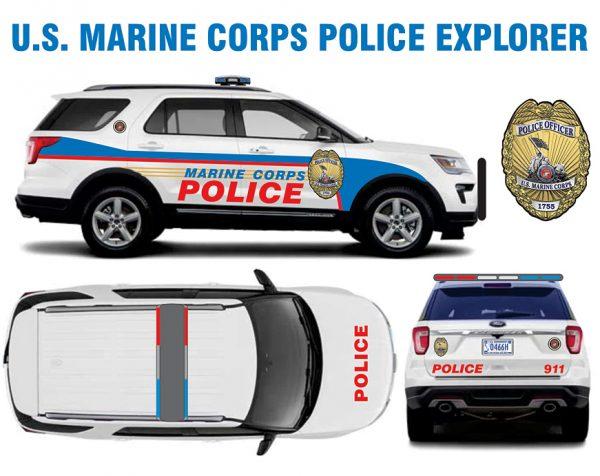 US Marine Corps Police Explorer