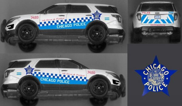 Chicago Police Illinois Checker Design Explorer